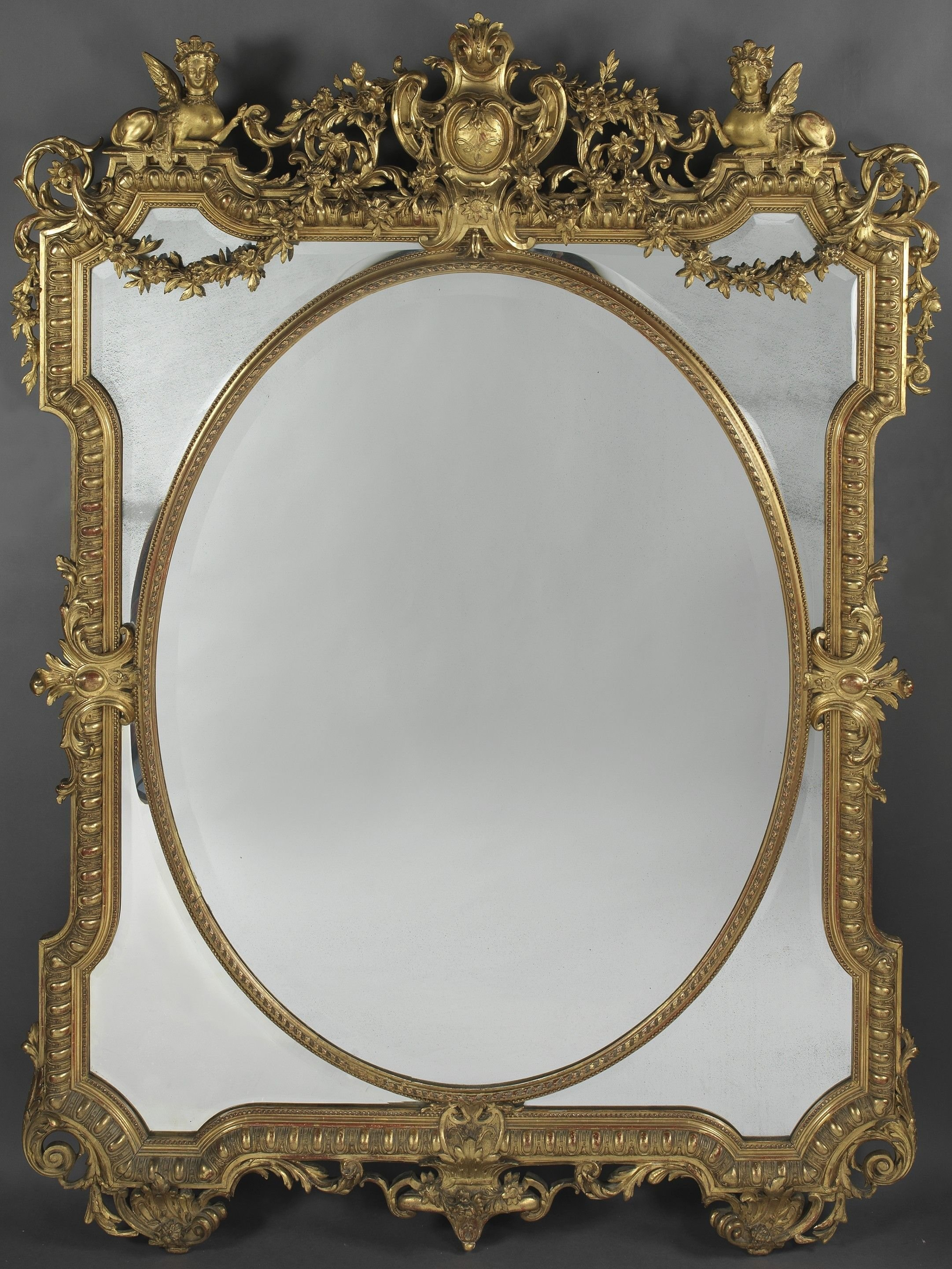 The Best A Fine Louis Xiv Style Marginal Frame Mirror Adrian Alan Pictures