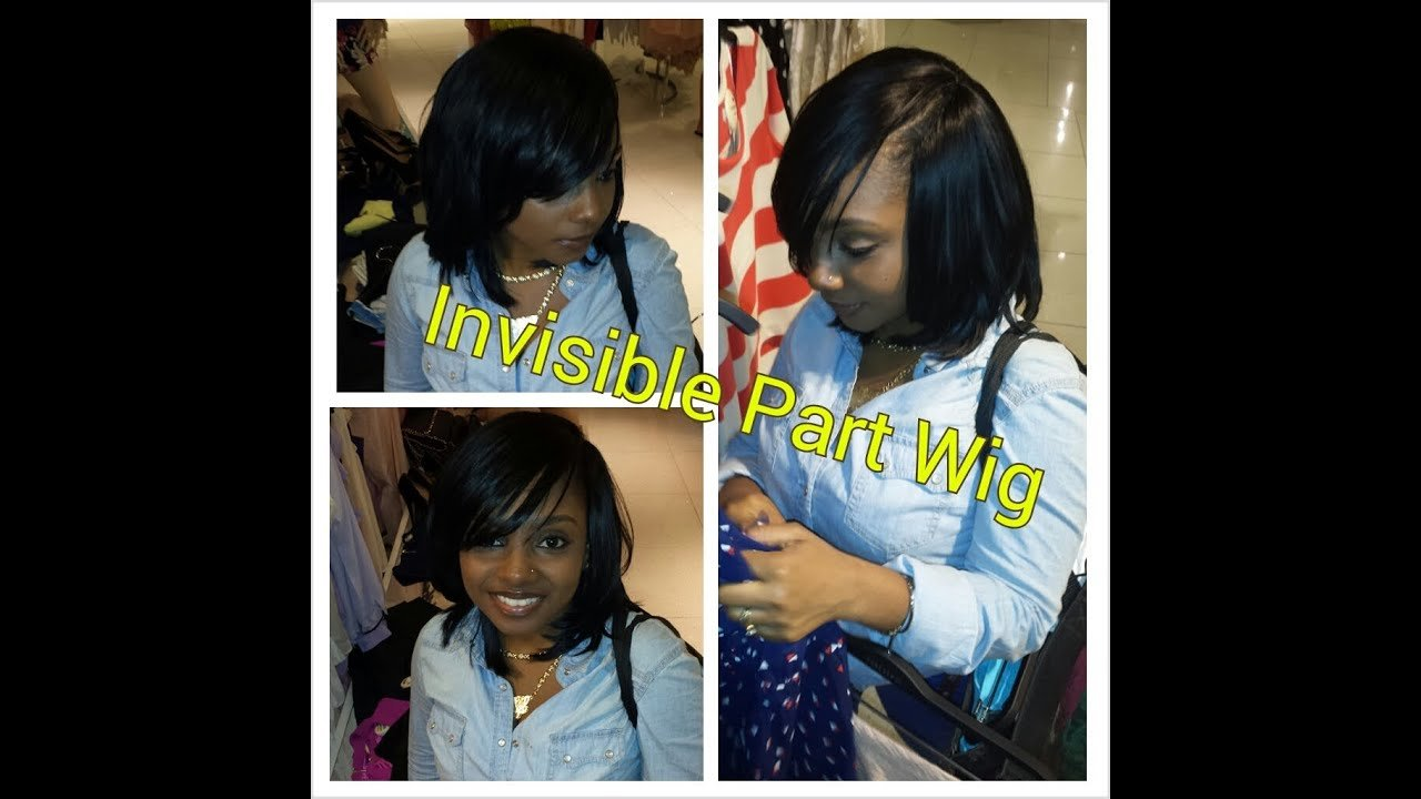 The Best Flawless Invisible Part Quick Weave Bump Hair Youtube Pictures