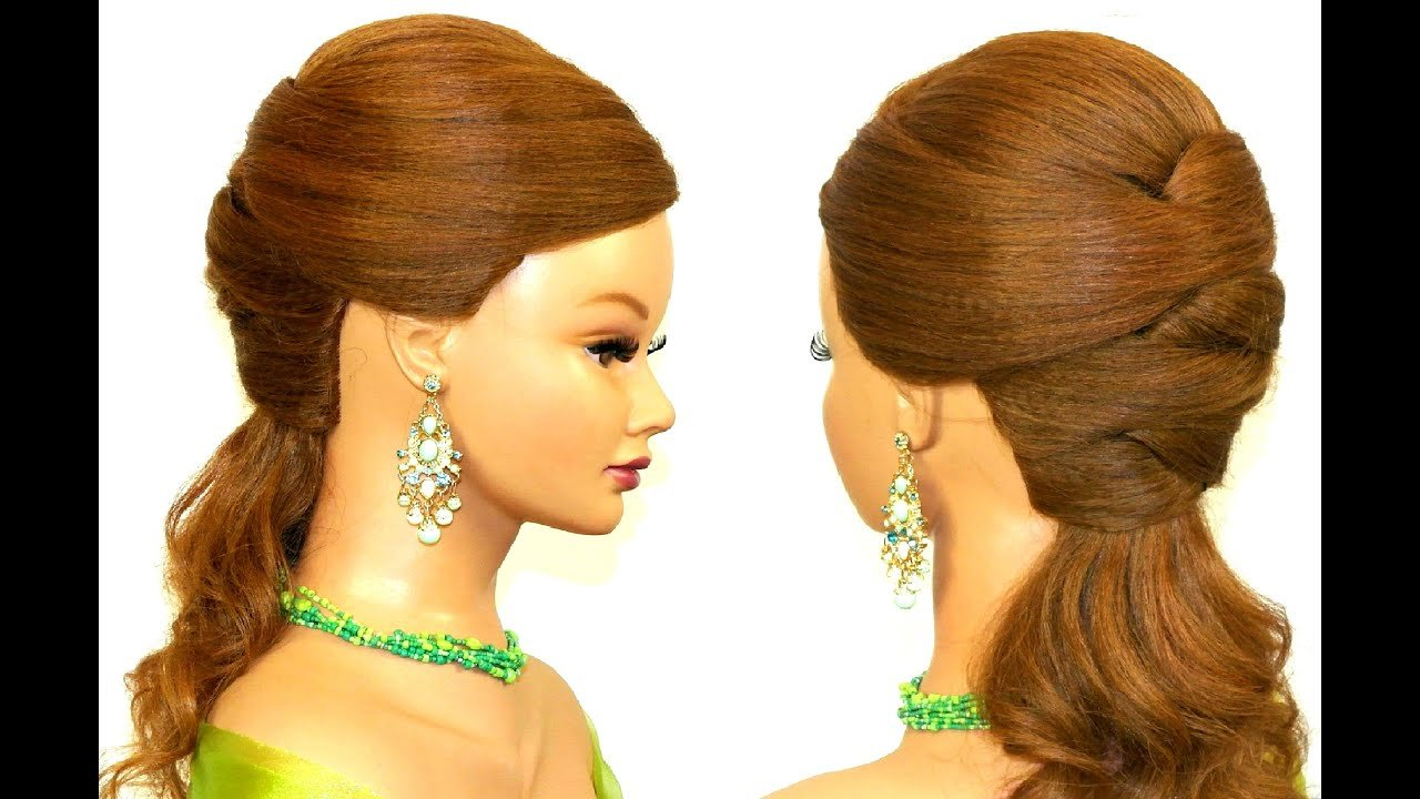 The Best Easy Prom Hairstyle For Long Hair Youtube Pictures
