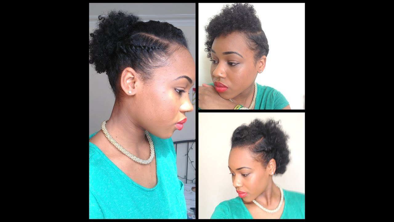 The Best 32 3 Quick Easy Style For Short Natural Hair Wash And Pictures