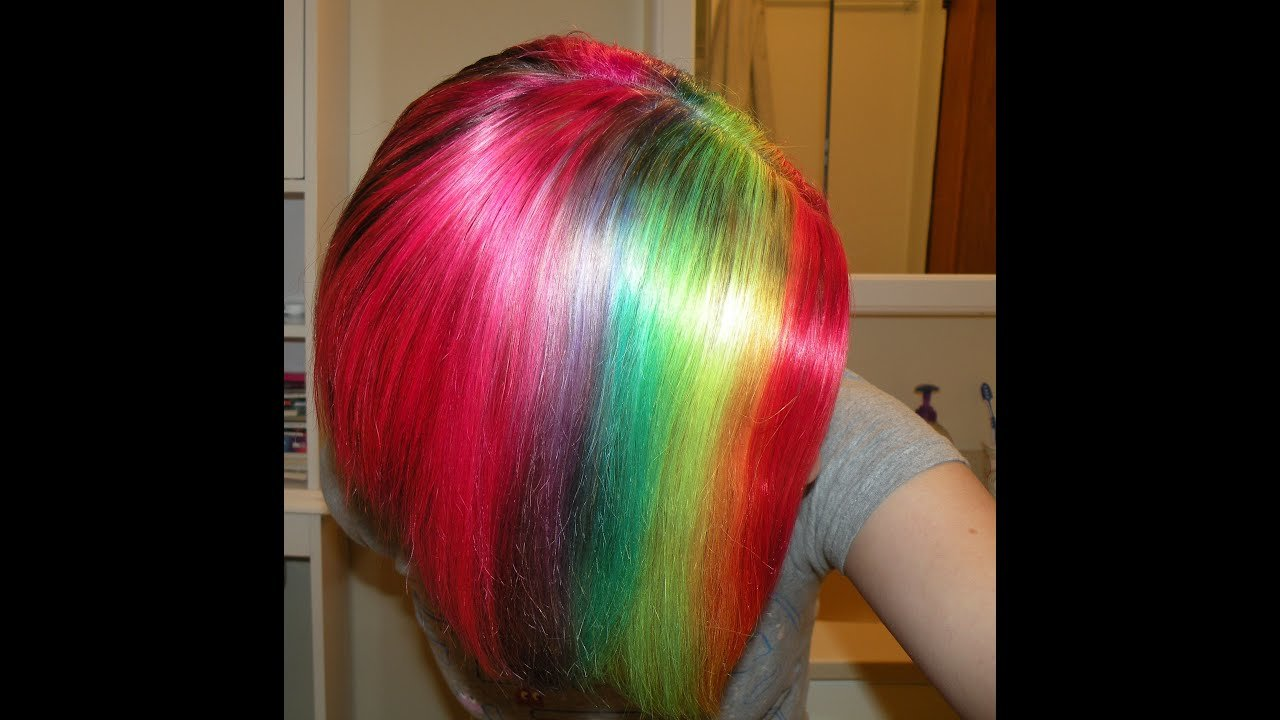 The Best How I Dye My Hair Rainbow Youtube Pictures
