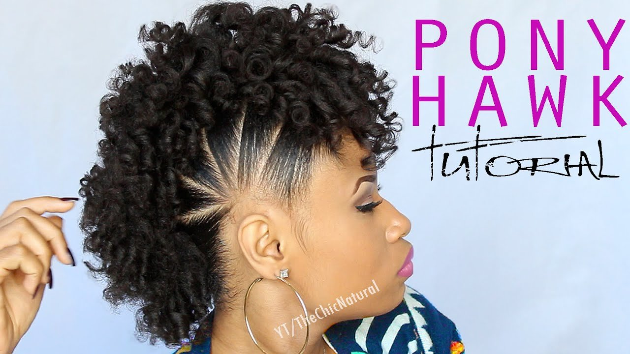 The Best The Pony Hawk Natural Hairstyle Youtube Pictures