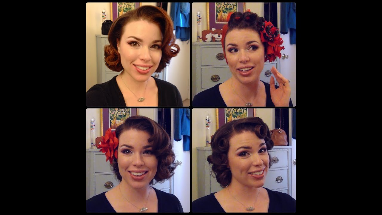 The Best Easy 50 S Pin Curl Styles For Shoulder Length Hair Youtube Pictures