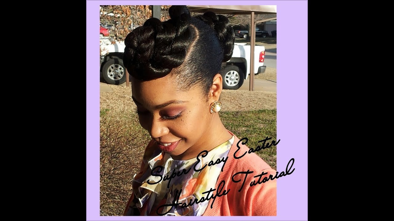 The Best 22 Super Easy Easter Hairstyle Tutorial Natural Hair Pictures