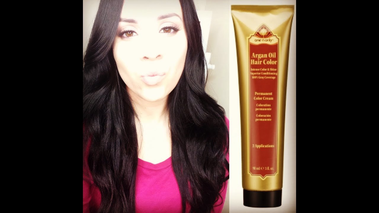 The Best One N Only Argan Oil Permanent Hair Color Review Youtube Pictures
