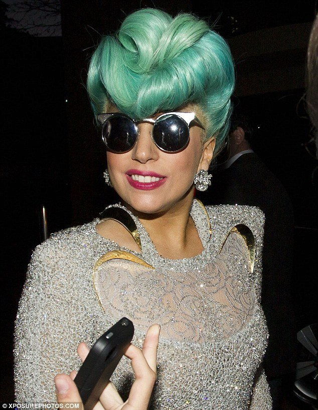 The Best Lady Gaga Touched Down In Sydney Australia Wearing A 1940S Pictures