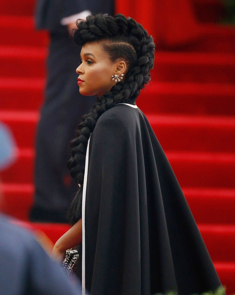 The Best Janelle Monáe S Met Gala Braid And More Celebrity Beauty Pictures