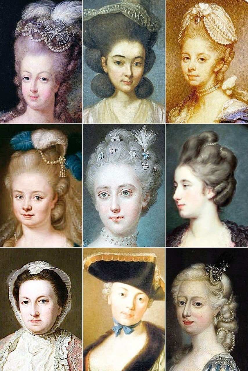 The Best 18Th Century Woman's Hairstyles A Collection Of The Pictures