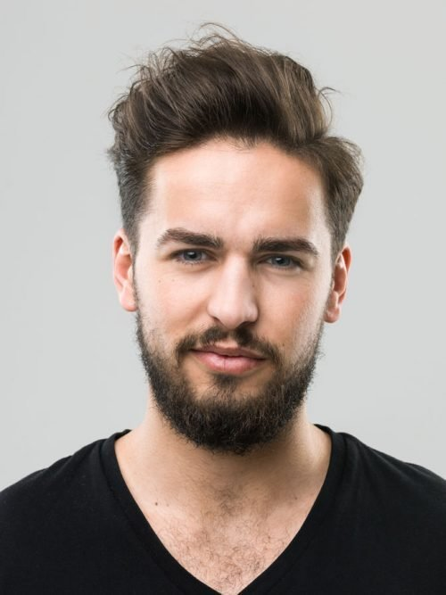 The Best 26 Selected Hairstyles For Men With Big Foreheads Pictures