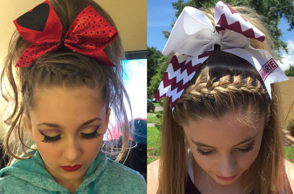 The Best Absolutely Cute Cheer Hairstyles Any Cheerleader Will Love Pictures