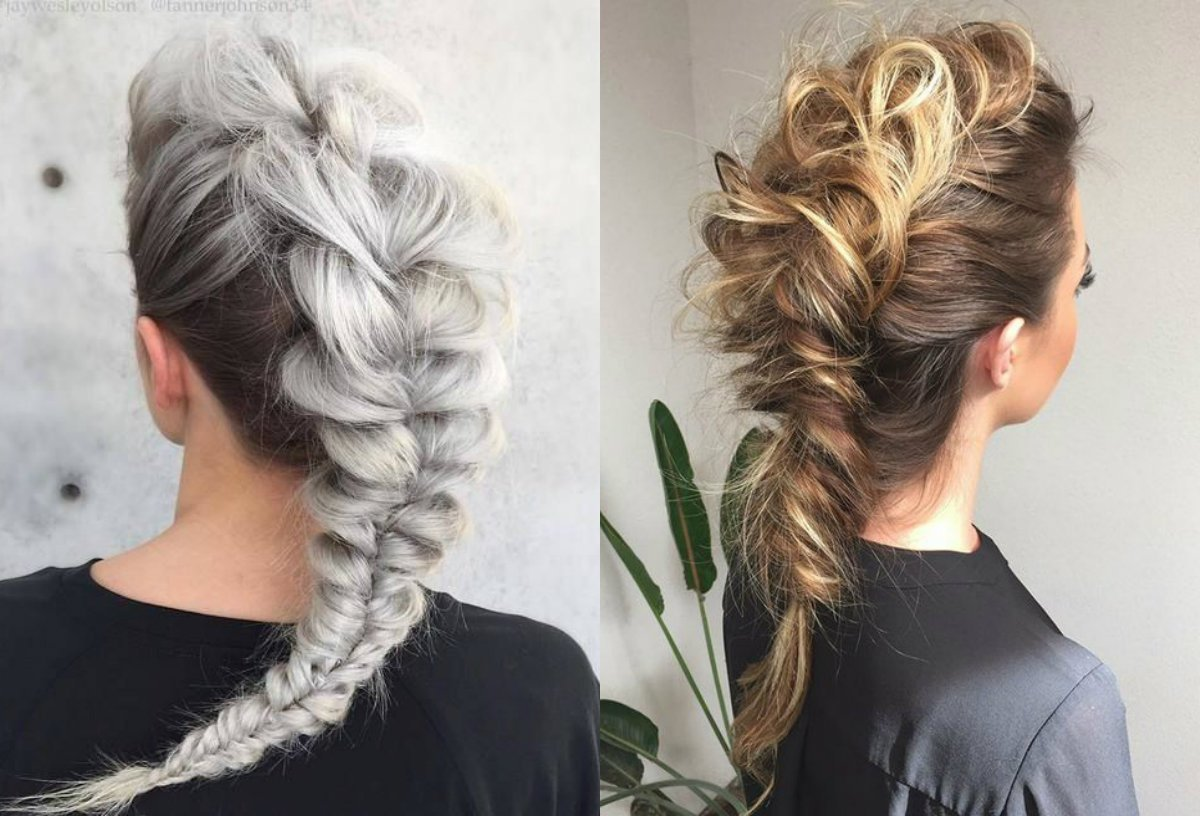The Best Expressive Women Braided Mohawk Hairstyles Hairdrome Com Pictures