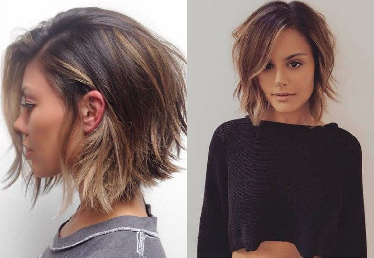 The Best Layered Bob Haircuts Ideas For Thin Hair Hairdrome Com Pictures