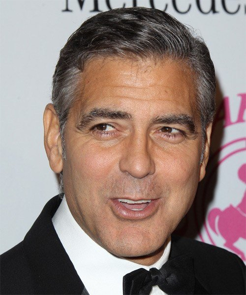 The Best George Clooney Hairstyles In 2018 Pictures