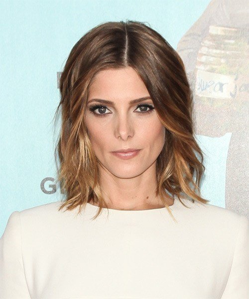 The Best Ashley Greene Medium Wavy Formal Hairstyle Golden Pictures