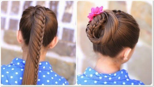 The Best 10 Unique Hairstyles For The School Week Beauty And Pictures