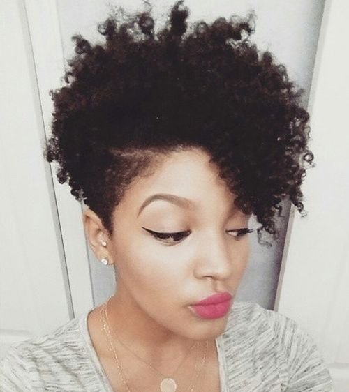 The Best 75 Most Inspiring Natural Hairstyles For Short Hair In 2017 Pictures