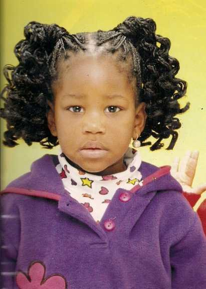 The Best Curly Ponytails Hairstyle African American Little Girls Pictures