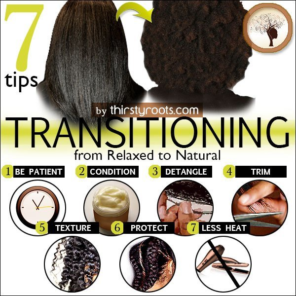 The Best Transitioning From Relaxed To Natural Hair Pictures
