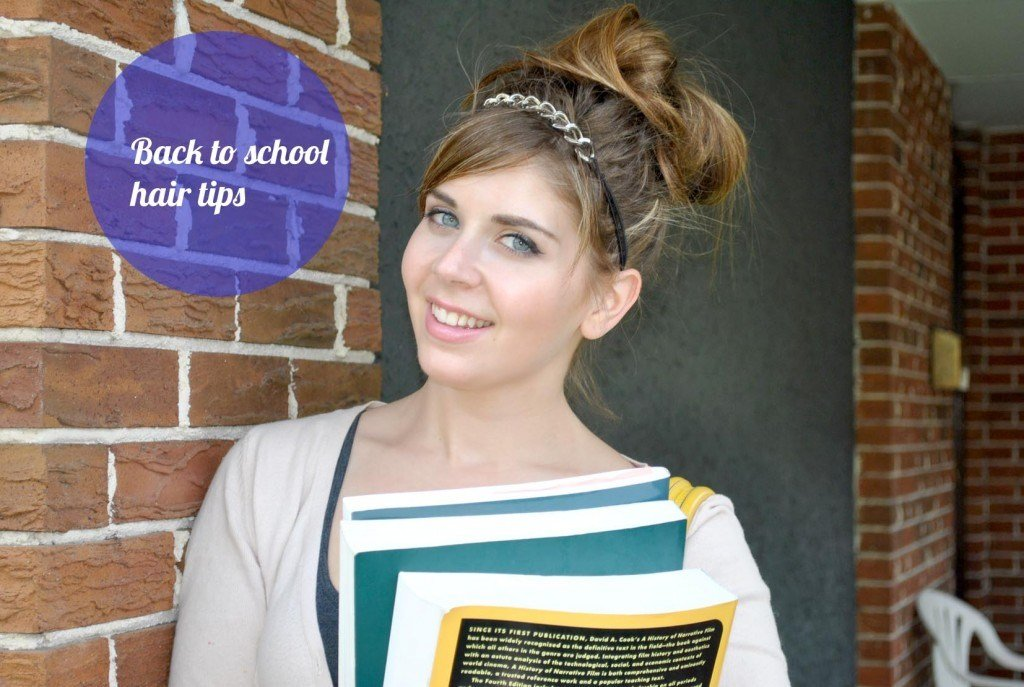 The Best A For Accessories Three Back To School Hairstyles To Make Pictures