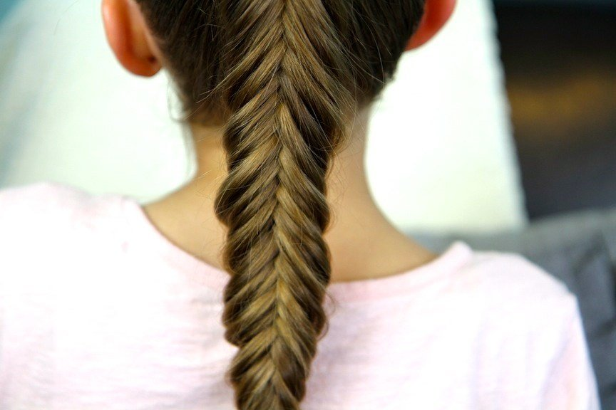 The Best Reverse Fishtail Braid Cute Braid Hairstyles Cute Pictures