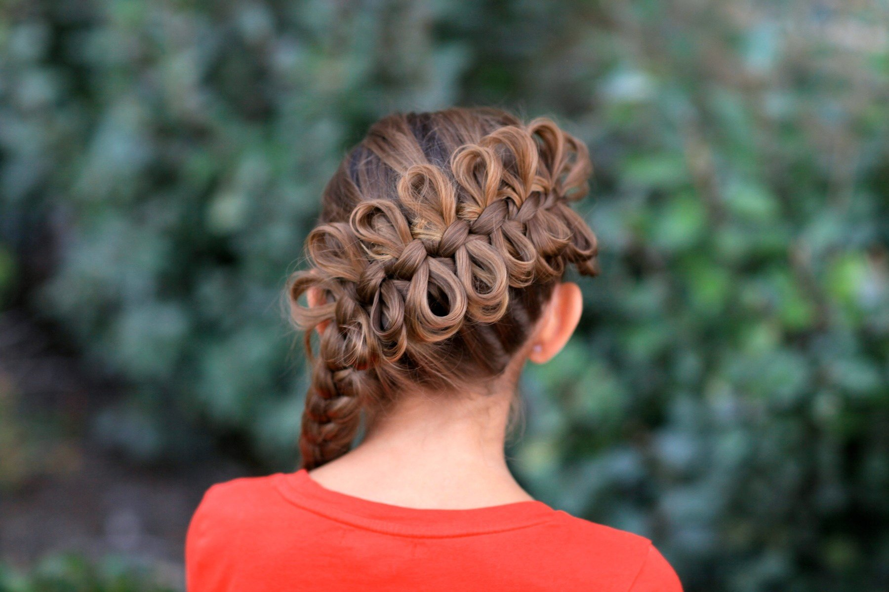 The Best Diagonal Bow Braid Popular Hairstyles Cute Girls Pictures
