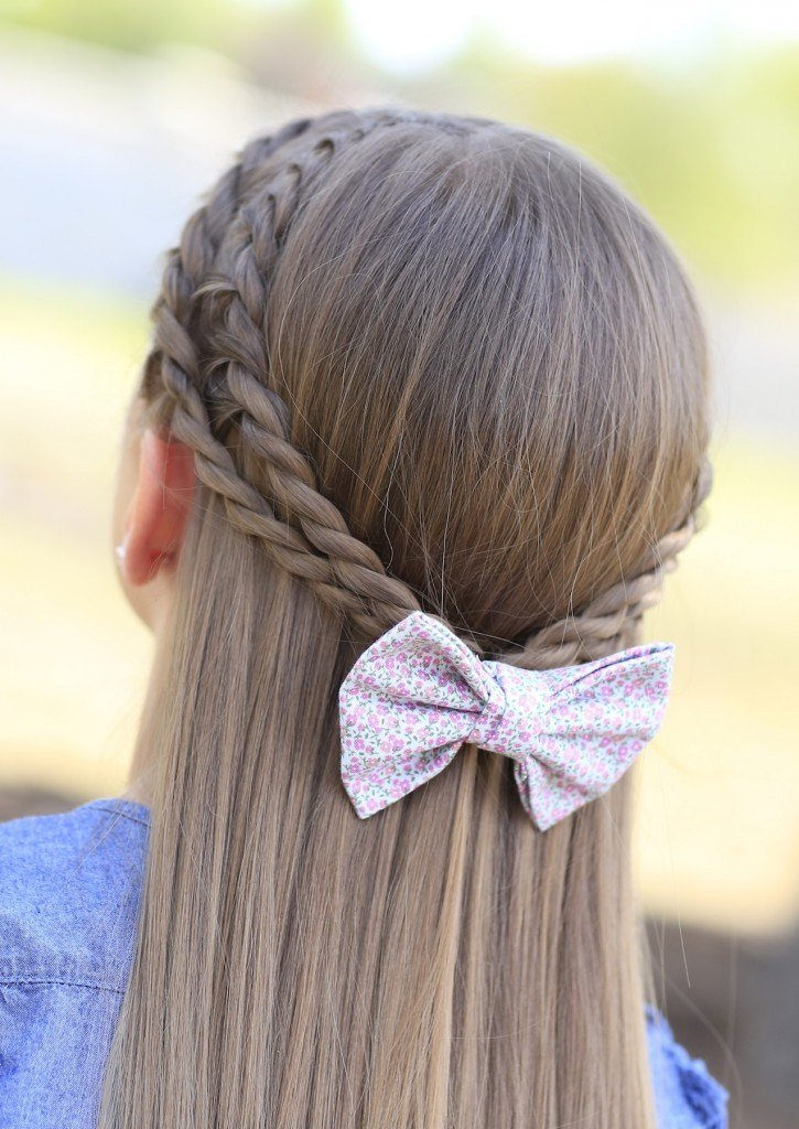 The Best How To Create A Zig Zag Twistback Cute Hairstyles Cute Pictures