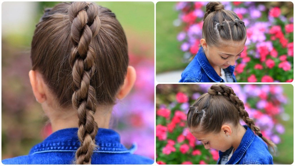 The Best How To Create A Chain Link Braid Cute Girls Hairstyles Pictures