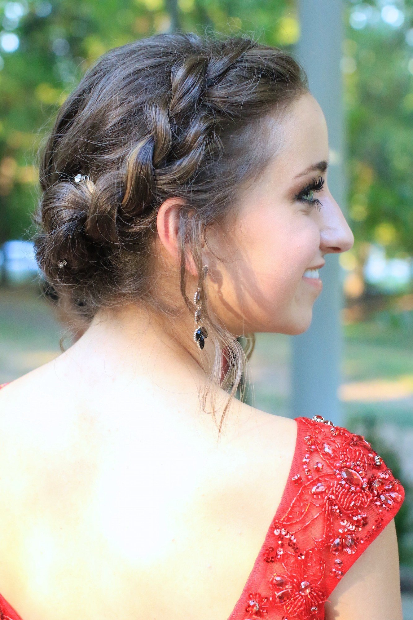 The Best Rope Twist Updo Homecoming Hairstyles Cute Girls Pictures