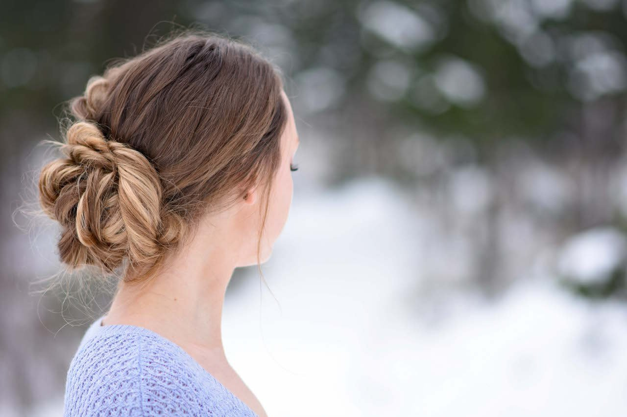 The Best Stacked Fishtail Updo Cute Girls Hairstyles Pictures
