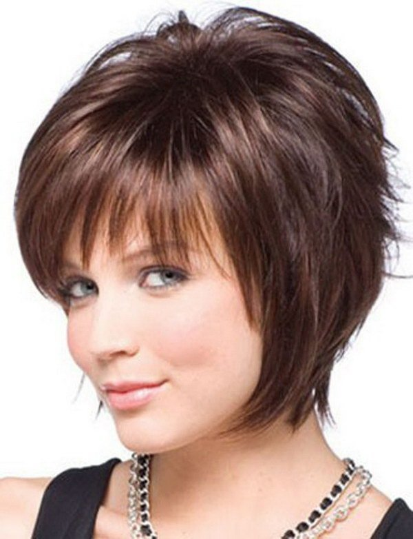 The Best 25 Beautiful Short Haircuts For Round Faces 2017 Pictures