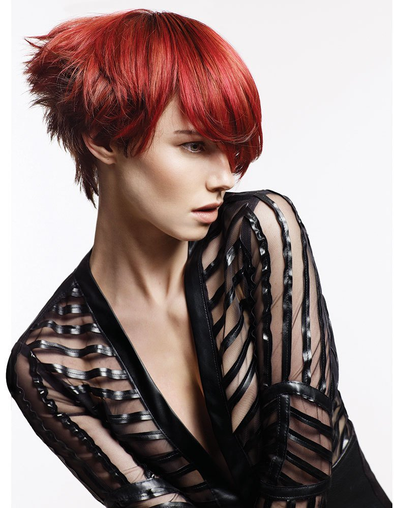 The Best Red And Copper Tones By Farouk Systems Patrick Kalle Career Modern Salon Pictures