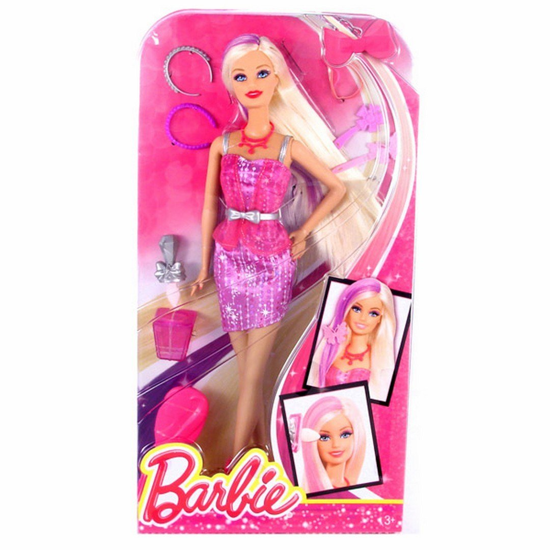 The Best Mattel Barbie Capelli Glam Hair Colour Change And Make Up Pictures