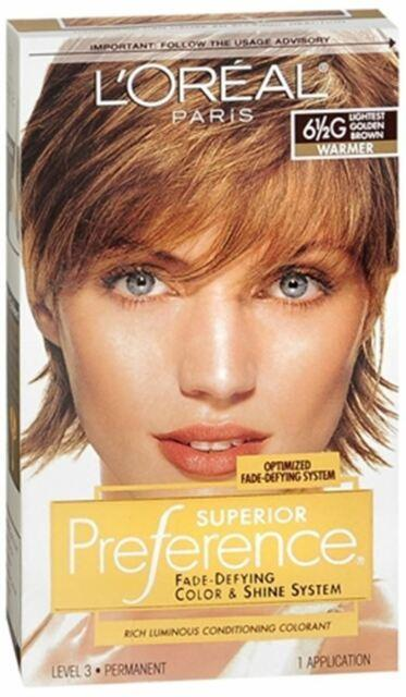 The Best L Oreal Paris Superior Preference Hair Color 6 5G Lightest Pictures
