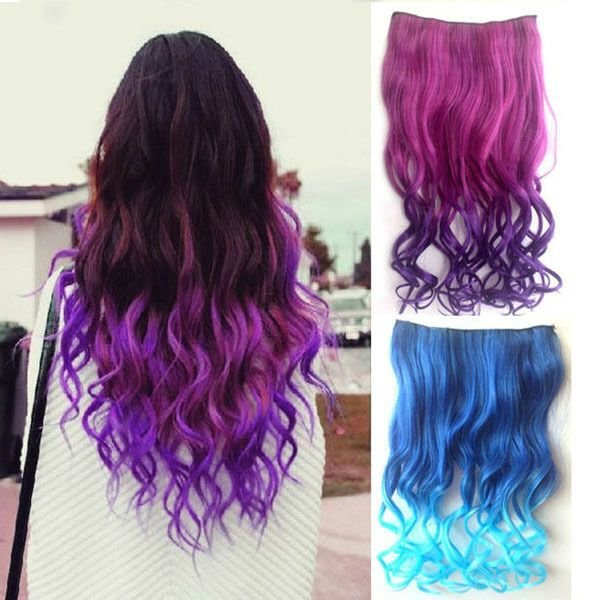 The Best Charming Women Hair Synthetic Full Head Clip In Long Curly Pictures