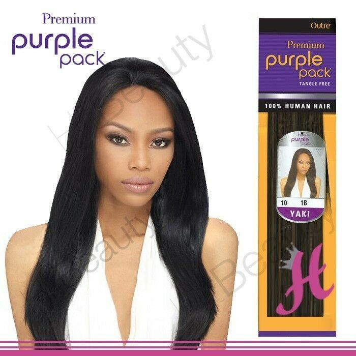 The Best Outre Premium Purple Pack 100 Human Yaki Hair Extension Pictures