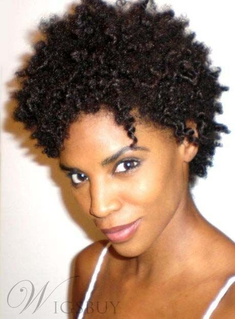 The Best African American Short K*Nky Curly Synthetic Hair Womens Pictures
