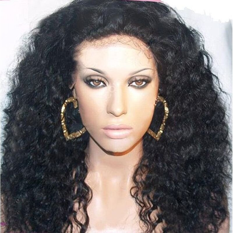 The Best Lace Front Wig Lace Wig 100 Indian Remy Human Hair Curly Pictures