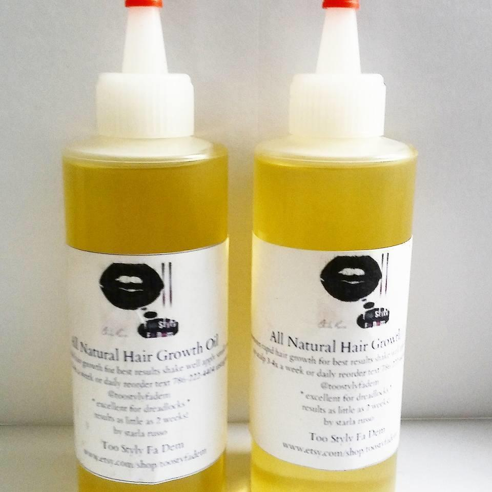 The Best All Natural Hair Growth Oil 4Oz Bottle Ebay Pictures