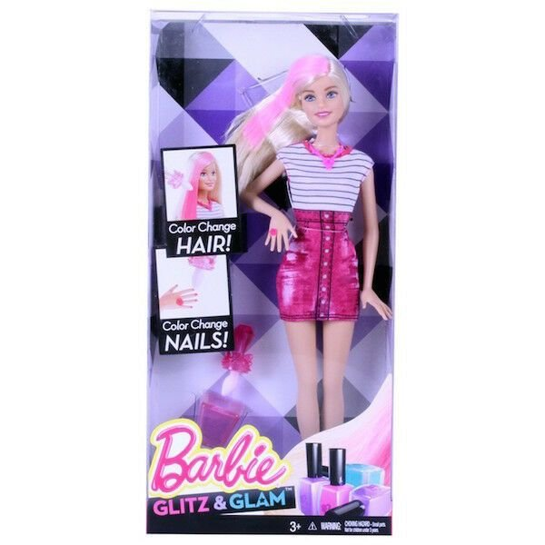 The Best Rare Barbie Hair Nail Colour Changing Doll Glitz Glam Pictures