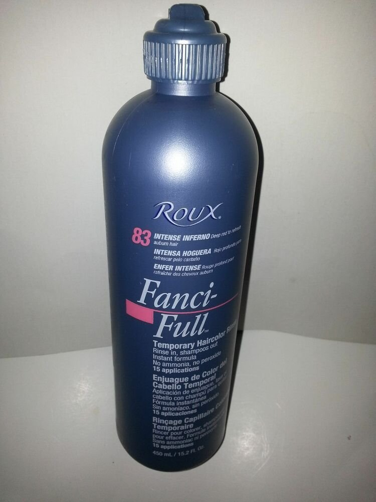 The Best Roux Fanci Full Temporary Hair Color Rinse 15 2 Fl Oz Pictures