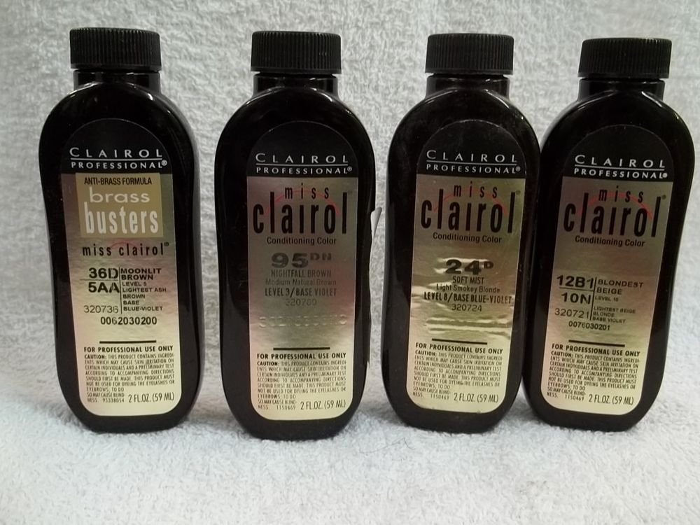 The Best Miss Clairol Professional Conditioning Liquid Hair Color Levels 1 6 2 Fl Oz Ebay Pictures