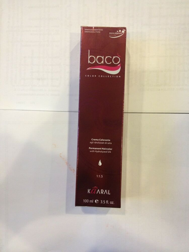 The Best Kaaral Baco Permanent Cream Hair Color W Hydrolyzed Silk Pictures