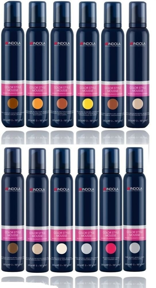 The Best Indola Profession Hair Colour Style Mousse 200Ml Various Pictures