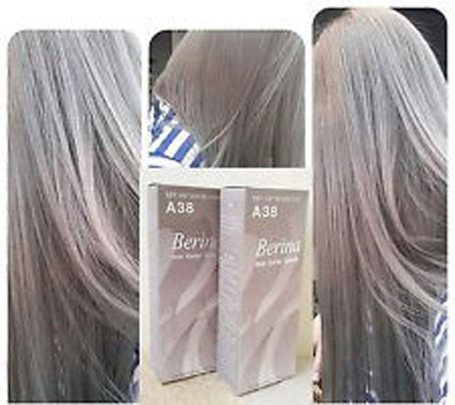 The Best New A 38 Berina Light Ash Blonde Color A38 Permanent Hair Pictures