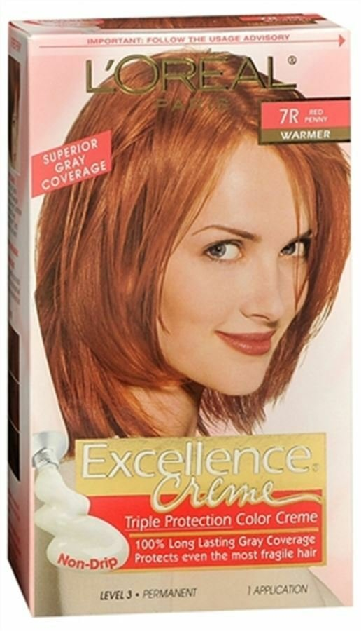The Best L Oreal Excellence Creme 7R Red Penny 1 Each Ebay Pictures