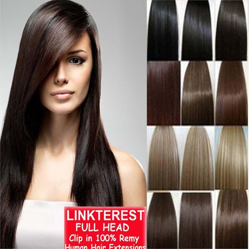 The Best 7Pcs 15 18 20 22 Clip In Remy Real 100 Human Hair Pictures