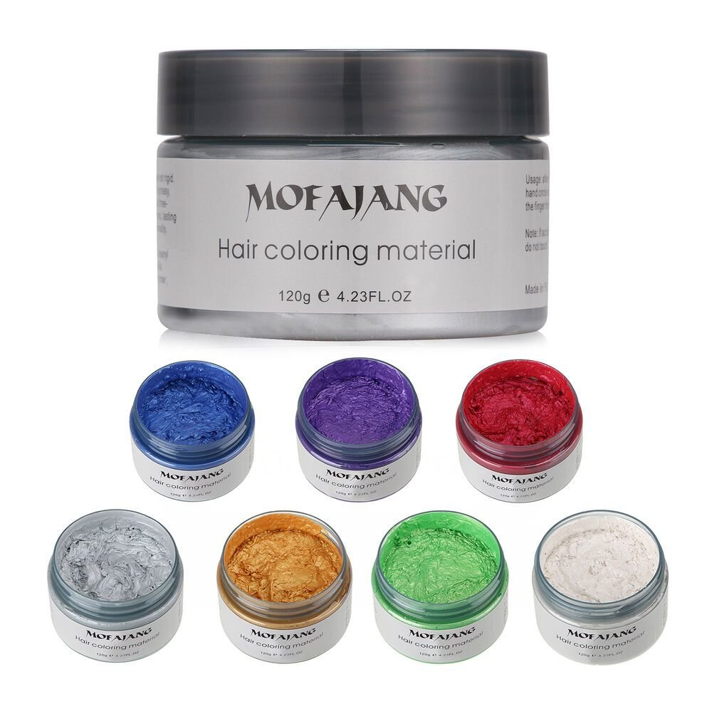 The Best Unisex Diy Hair Color Wax Mud Dye Cream Temporary Modeling Pictures