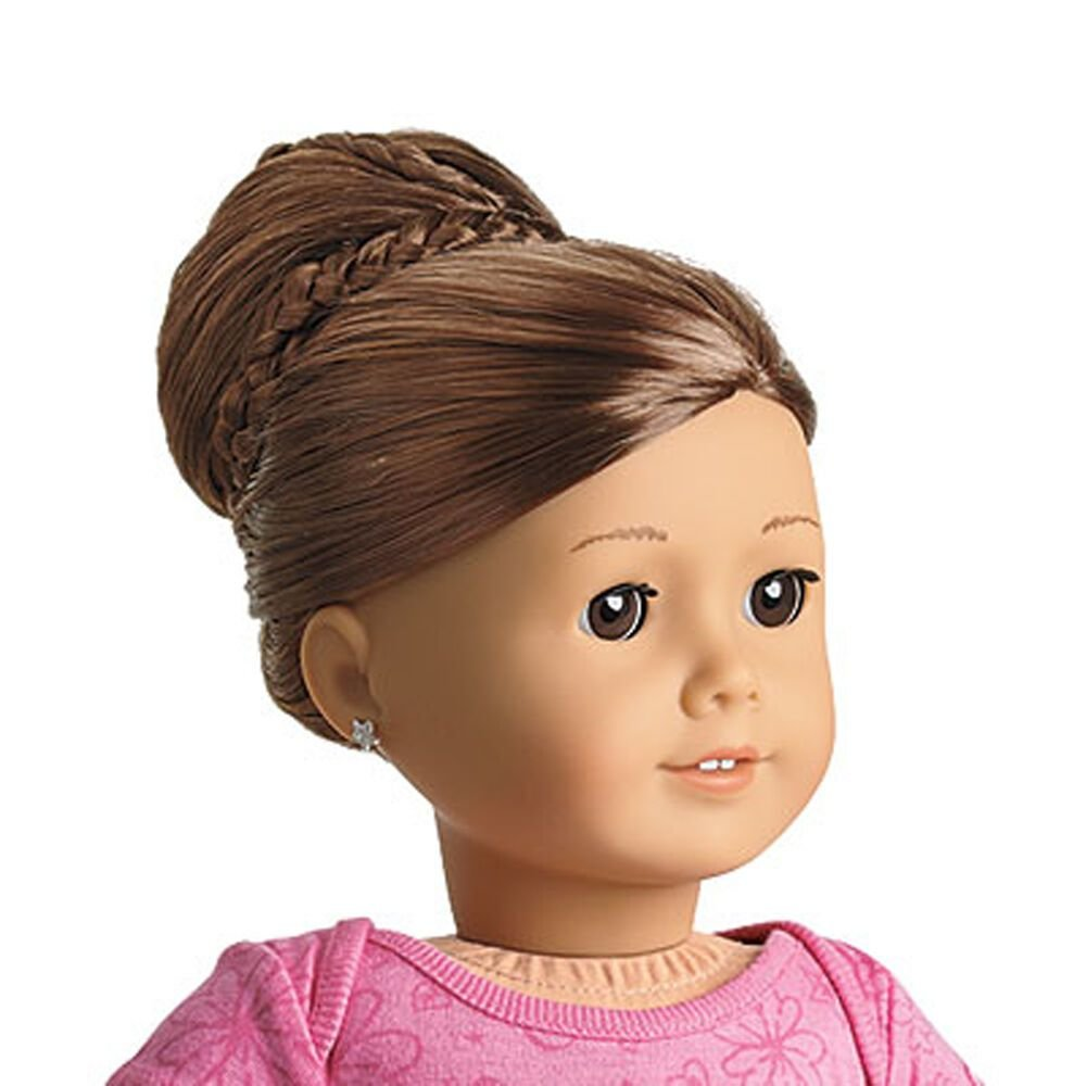 The Best American Girl My Ag Chic Bun Brown For 18 Dolls Extension Pictures