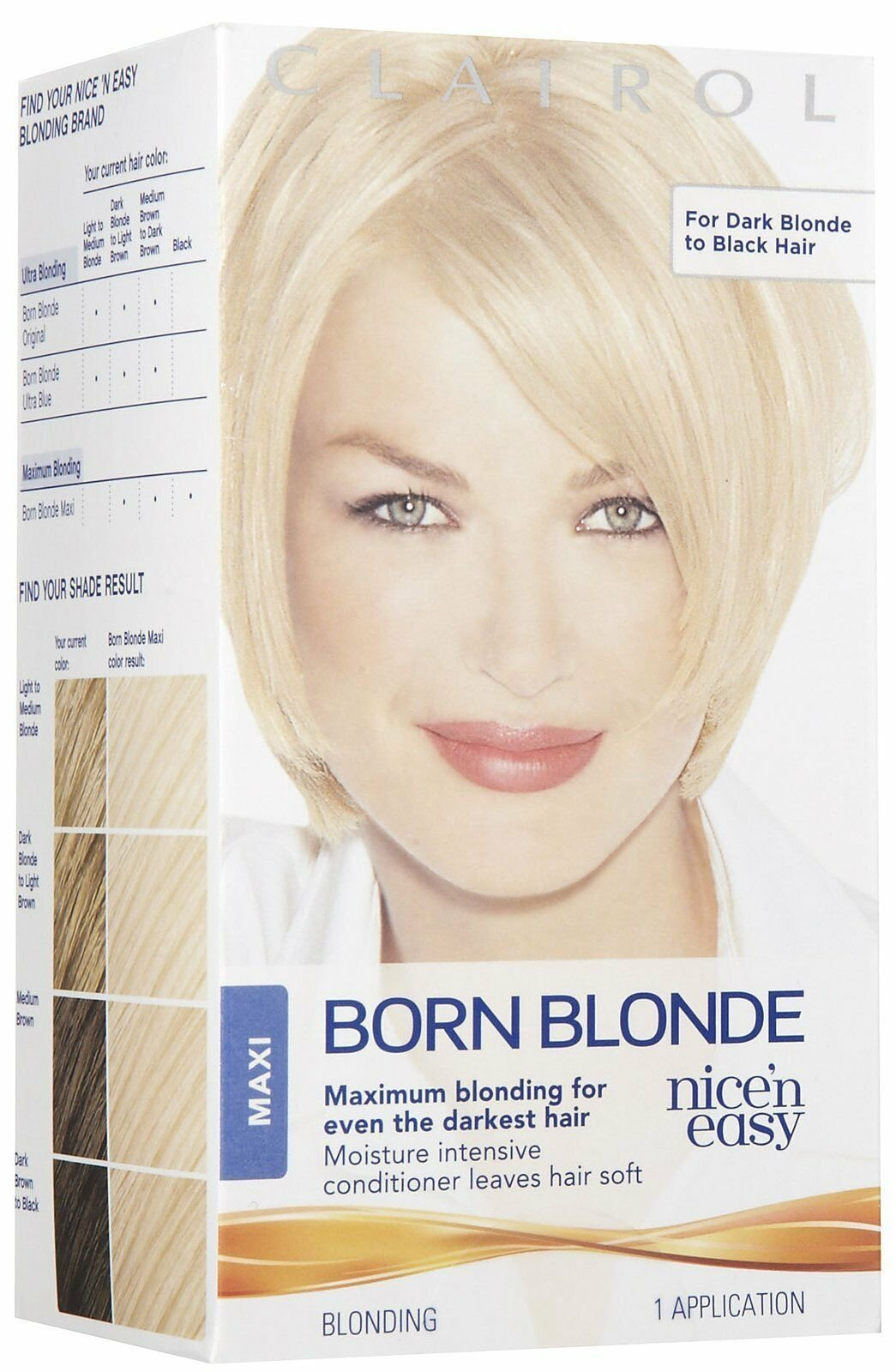 The Best Clairol Nice N Easy Born Blonde Maxi Hair Color 1 Kit Pictures