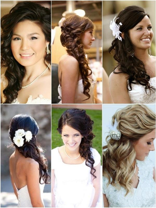 The Best Hot On Pinterest Side Do Wedding Hairstyles Weddbook Pictures